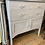 Paris Grey Painted Gustavian Style Stencilled Cupboard at Source for the Goose, South Molton