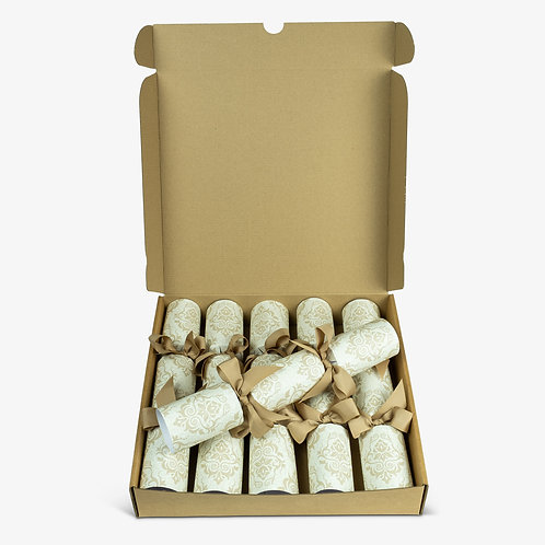 Little Green Cracker Company Baroque Gold Christmas ECO Cracker