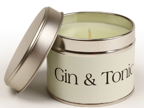 Gin and Tonic Pintail Candle,  British made homewares at Source for the Goose, Devon
