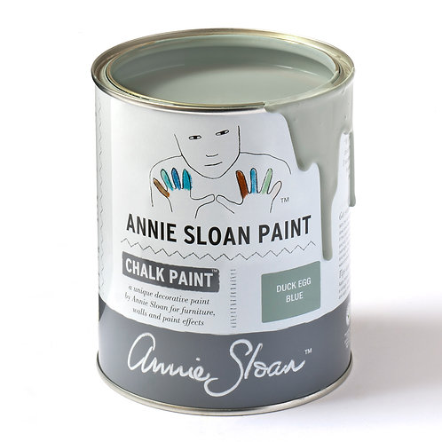 Duck Egg Blue Annie Sloan Chalk Paint at Source for the Goose