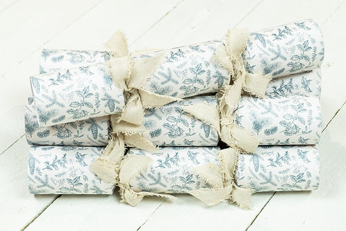 Handmade eco crackers from The Little Green Cracker Company, Christmas homewares at Source for the Goose, Devon