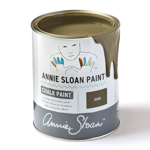 Olive Green Chalk Paint by Annie Sloan at Source for the Goose