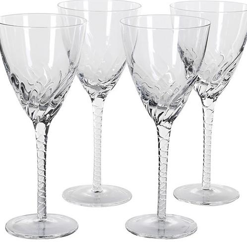 Twist Stem Wine Glass, homewares at Source for the Goose, Devon