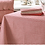 Waltons of Yorkshire homewares at Source for the Goose, County Ticking tablecloth in Dorset Red