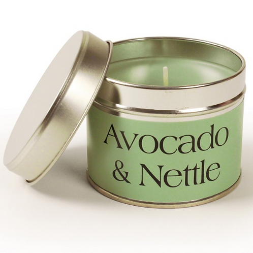 Avocado and Nettle Coordinate Candle to buy in Devon