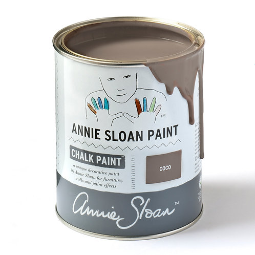 Annie Sloan Coco Chalk Paint at Source for the Goose