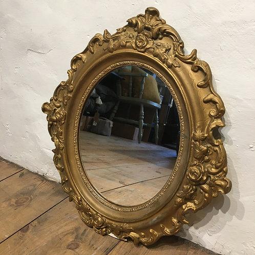 Chippy Gilded Vintage Mirror