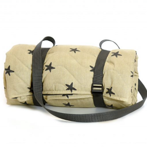 Waterproof Star Design Quilted Picnic Rug, Tweedmill textiles homewares at Source for the Goose