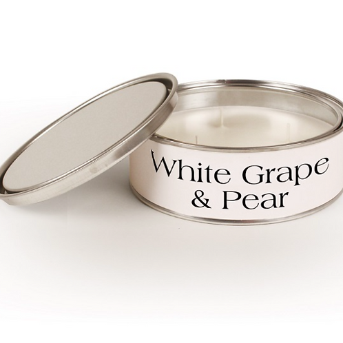 White Grape & Pear Pintail Candle, a triple wick candle to buy at Source for the Goose, South Molton, Devon
