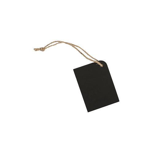 Chalkboard Tag with Rustic String, vintage styled homewares at Source for the Goose