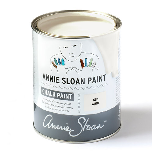Old White Chalk Paint at Source for the Goose