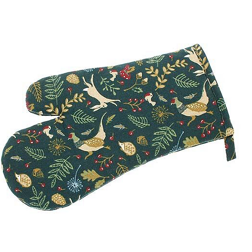 Enchanted Forest Gauntlet in red and green by Waltons of Yorkshire