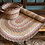 Misty Blue Organic Jute Braided Rug Basket, rustic shabby chic style, buy in Devon