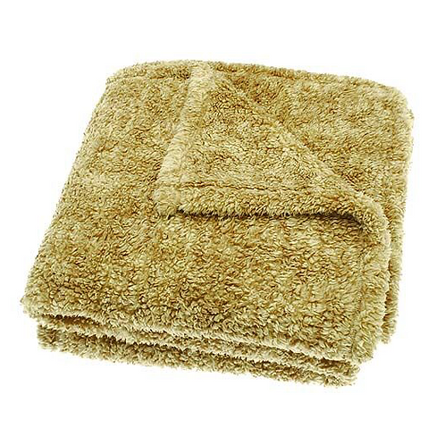 Soft Sherpa Throw in Honeycomb, Waltons of Yorkshire interiors at Source for the Goose