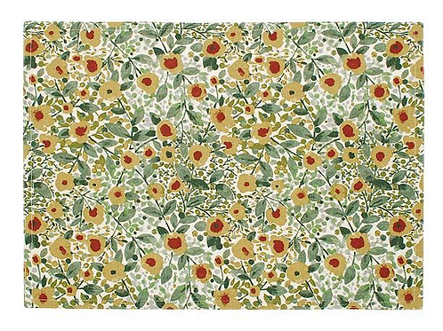 Set of two placemats in Wildflower design, interiors at Source for the Goose