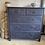 Vintage Chest of Drawers in Oxford Navy, secondhand furniture at Source for the Goose, Devon