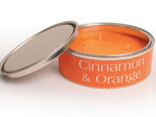 Cinnamon & Orange Pintail Candle