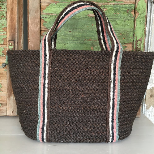 Just shopper bag by the Braided Rug Company at Source for the Goose