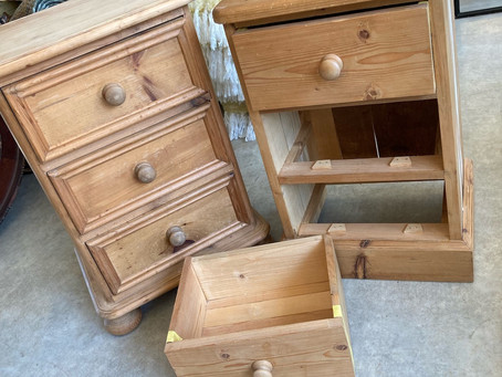 How to - update some old pine furniture