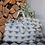 Thumbnail: Prussian Blue Bee Design Shopper