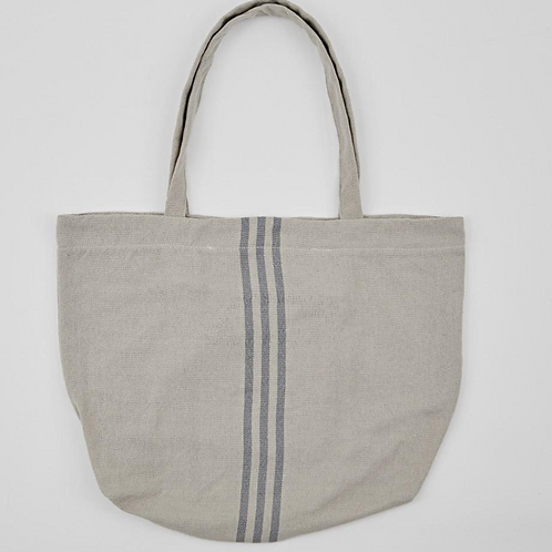Weaver Green Maxime Linen and Blue Bag, recycled homewares at Source for the Goose, Devon