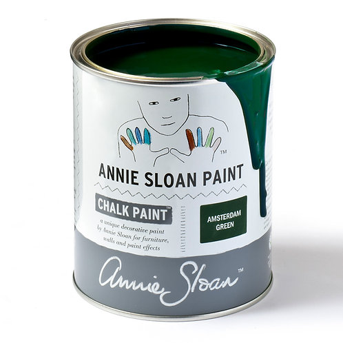 Amsterdam Green Chalk paint at Source for the Goose
