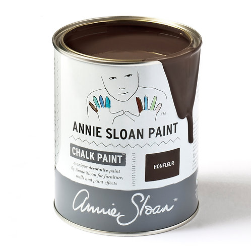 Rich dark brown Chalk Paint, Honfleur available at Source for the Goose