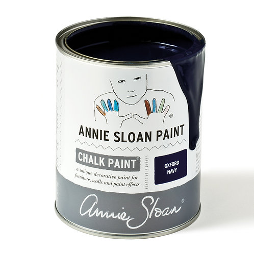 Oxford Navy Chalk Paint to buy at Source for the Goose
