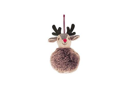 Hanging Festive Deer, Waltons of Yorkshire homewares at Source for the Goose
