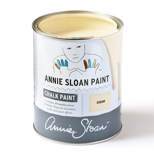 Chalk Paint colour Cream at Source for the Goose