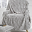 Marilyn Faux Fur Throw in Dove Grey to buy at Source for the Goose interiors