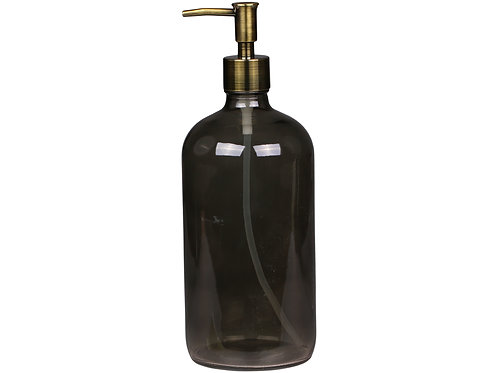 Coal Soap Dispenser with Two Pumps
