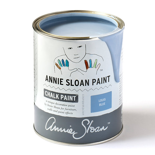 Louis Blue Chalk Paint at Source for the Goose