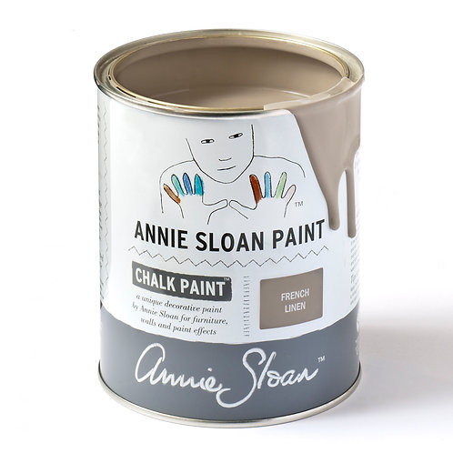 Tin of Annie Sloan French Linen at Source for the Goose