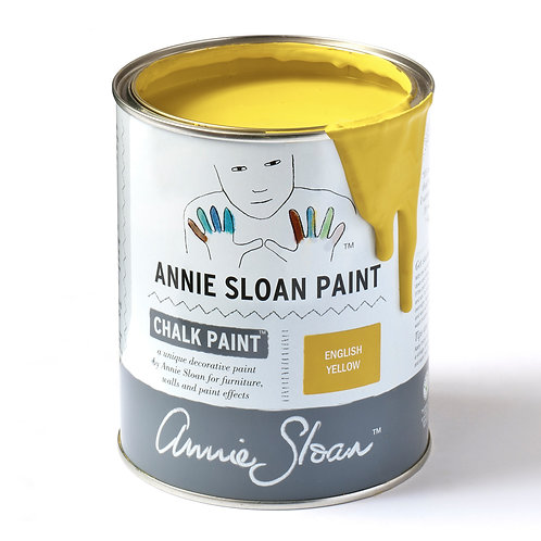 Bright Yellow, Chalk Paint. English Yellow by Annie Sloan