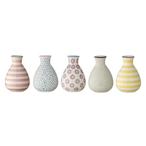 Sweet Little Patterned Stoneware Vase