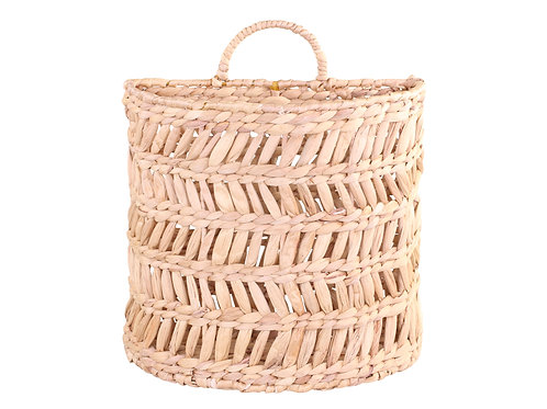 Large Wall Hanging Basket, raffia wicker style homewares at Source for the Goose