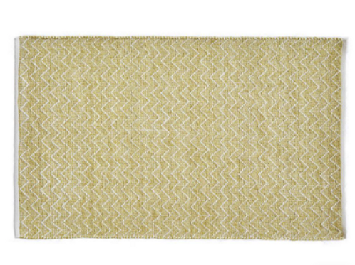 Weaver Green Gooseberry Provence Recycled Plastic Bottles Rug at Source for the Goose