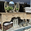 Vintage French Style Trifold Dressing Table Mirror at Source for the Goose, South Molton