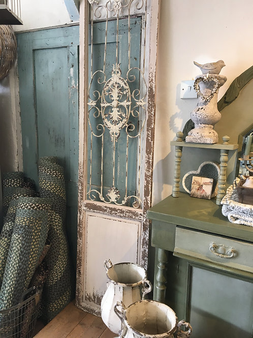 French style decorative shutter, wall art for the shabby chic home