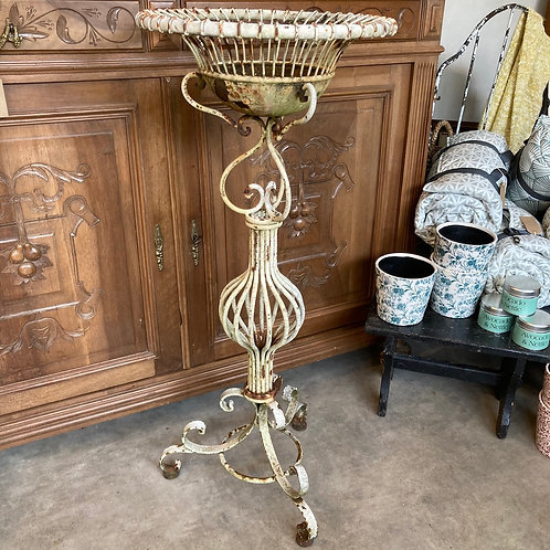 Tall Ornate Vintage Garden Planter, rustic garden and interiors at Source for the Goose