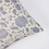 Athena Smoke Cushion in Blue/Grey cotton, interiors at Source for the Goose, South Molton