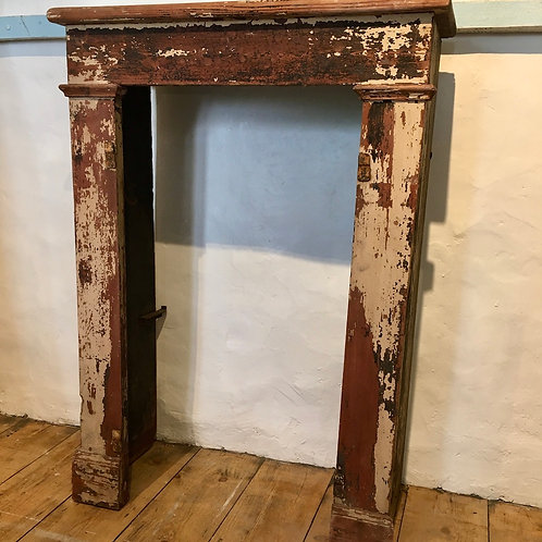 Vintage secondhand French fire surround at Source for the Goose