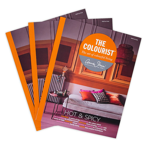 Annie Sloan The Colourist Issue 5, Annie Sloan Chalk Paint book at Source for the Goose, Devon
