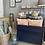 Large Vintage Chest of Drawers in Oxford Navy, vintage hand painted furniture at Source for the Goose, Devon