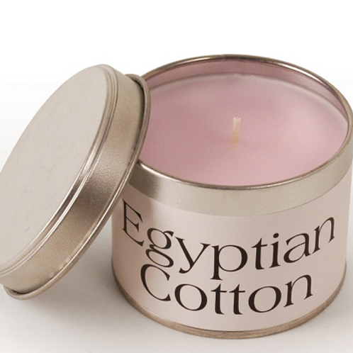 Egyption Cotton scented Pintail Candle, to buy at Interiors at Source for the Goose