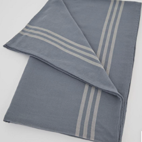 French style Weaver Green Maxime Blue and Linen Tablecloth to buy in Devon