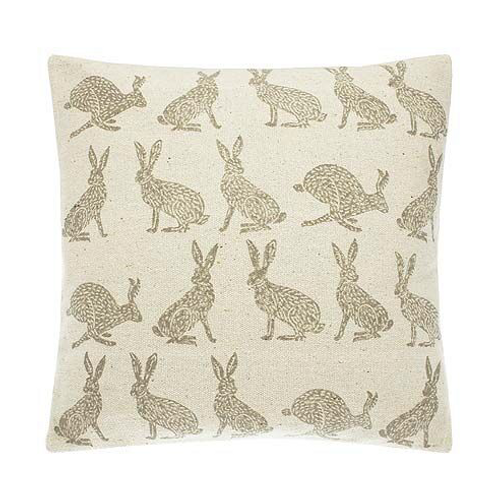 Waltons of Yorkshire Forest Hare Cushion, at Source for the Goose