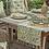 Wildflower design tableware at Source for the Goose, Devon