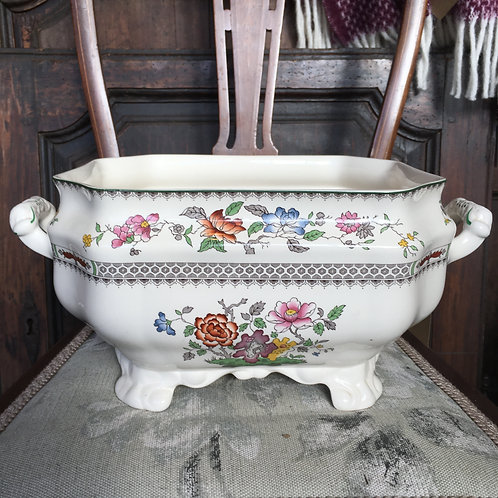 Spode Chinese Rose Tureen with handles, vintage china homewares at Source for the Goose, Devon